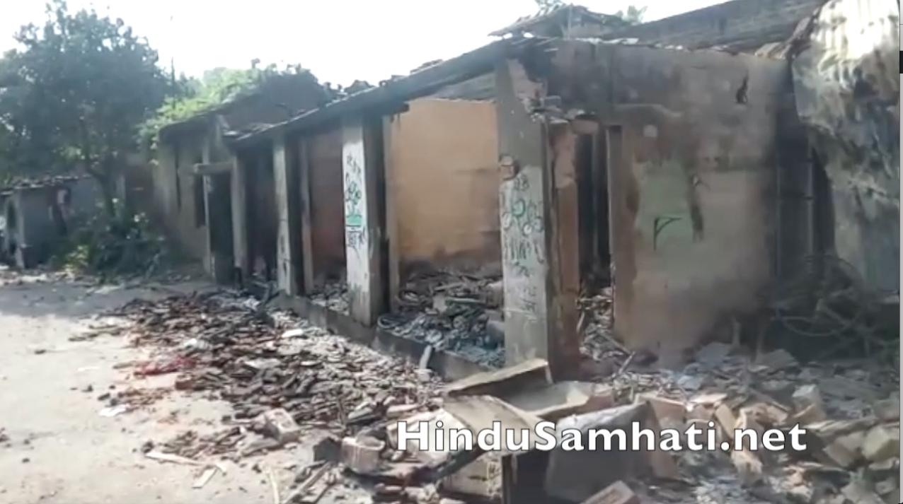 Muslim Mob Loots and Burns