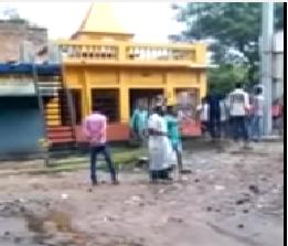 Basirhat riot temple desecration