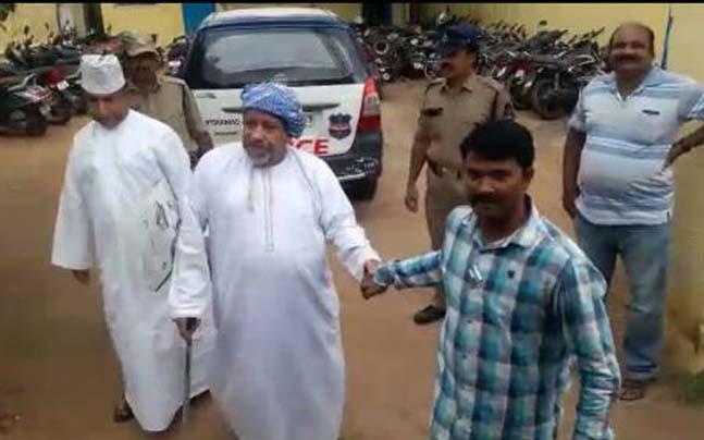 Arabs Arrested