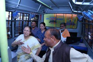 Amit and Arpita Bhandari with Lok Sabha Speaker Sumitra Mahajan