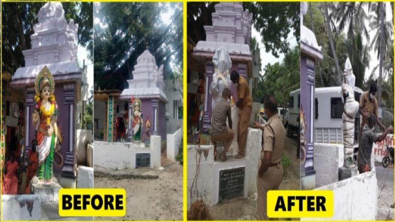 Bharat Mata statue opposed by Christians in Kanyakumari