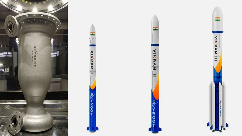 skyroot engine and rockets