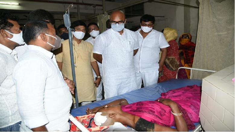 Telangana BJP worker attacked